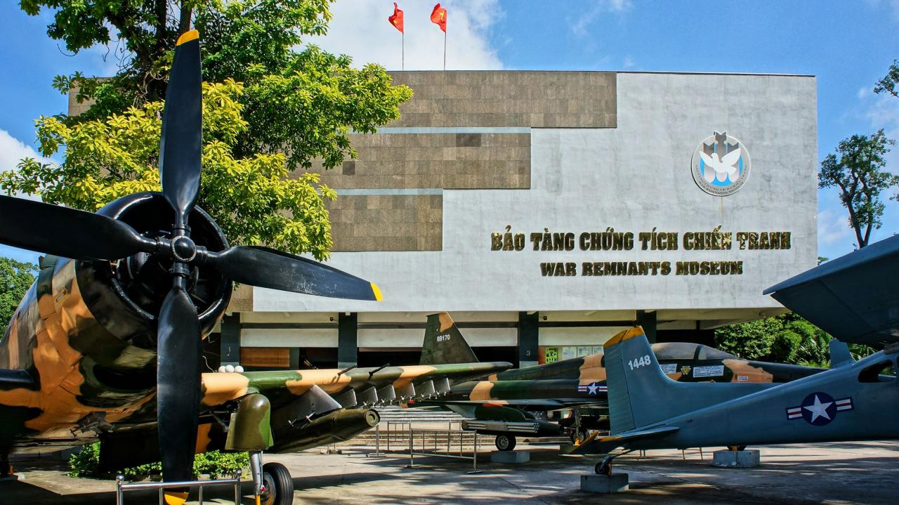 A Visit to the War Remnants Museum in Ho Chi Minh City