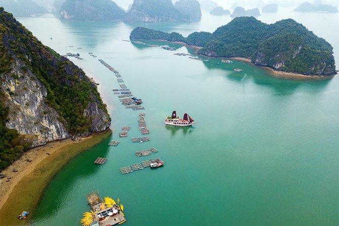 Lan Ha Bay & Ha Long Bay Cruise Day Tour: Kayaking, Swimming & Lunch 2021 - Hanoi