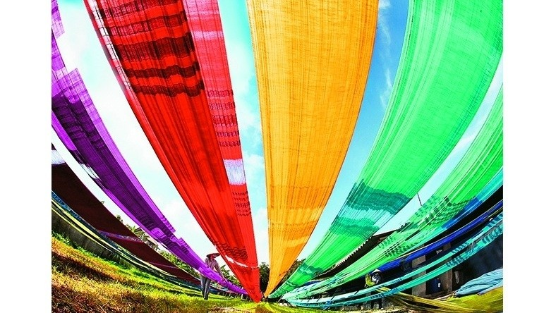 Traditional Vietnamese silk continues its journey - Nhan Dan Online